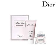 Dior 迪奧 Miss Dior 花漾淡香水旅行組禮盒 (淡香水5ml+身體乳20ml)【SP嚴選家】APP領券9折→代碼08CP2000B