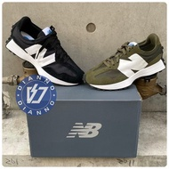 帝安諾-實體店面 New Balance NB 327 復古 慢跑鞋 軍綠 黑 白 MS327CPE MS327CPG