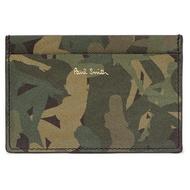 【預購】PAUL SMITH Camouflage-Print Cardholder 迷彩牛皮名片夾 卡夾