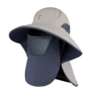 Sun Protection Hat UV Protection Sun Hat Summer Outdoor Hat Fishing Hat Men And Women Sun Breathable Eaves Fisherman Hat