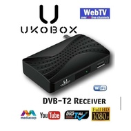 ★IMDA Approved and Local Warranty★ UKOBOX DVB-T2 Receiver / DVB-T2 Tunner