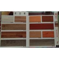 塑膠地板磚家~新時代塑膠地磚塑膠地板~15cmx90cmx2.0m/m,580元/坪