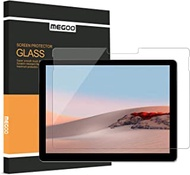 MEGOO Screen Protector for Surface Go 1/2, Tempered Glass/Easy Installation/High Sensitive/Full Protection, Designed for Microsoft Surface Go Gen 1 (2018) & Gen 2 (2020)