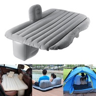 136x84x44cm Inflatable Air Mattresses Camping Travel Car Back Seat Rear Seat Rest Cushion Sleeping Pad With Pump
