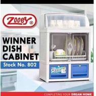 Zooey Winner Dish Cabinet-802 (L-51cm,W-33cm,H-75cm)