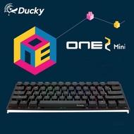 【Ducky】One 2 Mini RGB 機械式鍵盤 銀軸 中文 RGB 黑色 PBT
