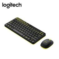 羅技 Logitech MK240 Nano 無線鍵盤滑鼠組-黑黃 [富廉網]