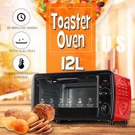 12L Mini Electric Toaster Oven Breakfast Machine Home kitchen Modern Oven