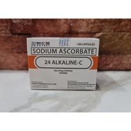 24 Alkaline C 100 caps - Original