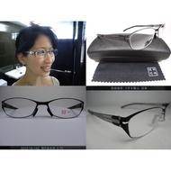 【信義計劃眼鏡】岡崎健司眼鏡 日本 無螺絲無焊接點 三叉式彈簧鏡架