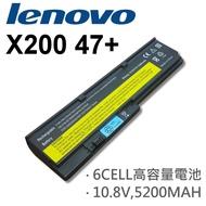 LENOVO 6芯 日系電芯 X200 47+ 電池 IBM X200 X200S X201 X201S X201I X201SI 42T4534 42T4536 42T4538 42T4540