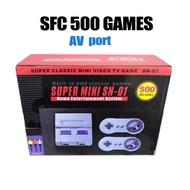 各類遊戲機 switch手游 SFC500/620/821游戲機復古經典NES SFC迷你紅白游戲機SFC內置游戲 神奇