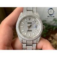 Rolex 勞力士 蠔式滿天星鑽錶男錶 機械錶 實拍出貨 慕莎名錶