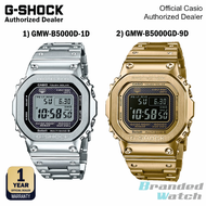 [OFFICIAL CASIO WARRANTY] Casio G-Shock GMW B5000Full Gold Steel Watch GMWB5000D-1 GMW-B5000D-1D GMW-B5000GD-9D Jam Emas