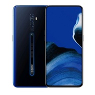 機窩-無卡分期 快速過件交機.OPPO Reno 2 8G/256G 藍.粉 側旋升降四鏡頭手機原廠公司貨全新未拆.