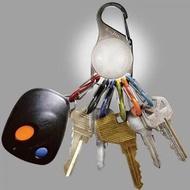 原廠電池已沒電,不介意再下標├登山樂┤美國 NITE IZE S-Biner KeyLit LED 鑰匙圈燈8字扣組 # KRL-03-02 白光