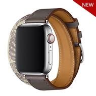 สายนาฬิกาหนังแท้สำหรับApple Watch,สายอะไหล่สายนาฬิกาขนาด38มม. 40มม. 42มม. 44มม. สายหนังแท้แบบบางสำหรับApple Watch Series 5/4/3/2สายรัดข้อมือ