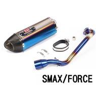 SMAX/FORCE 類吉村/碳纖維排氣管/台蠍管/鍍鈦蠍管/白鐵鍍鈦/吉村/改裝管/六角管/大六角管/直通管/台蠍