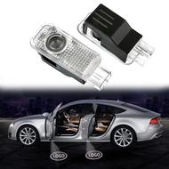 【BO 汽車 機車 周邊】專車專用 Audi 奧迪迎賓燈 車門LOGO燈 投影鐳射燈 汽車LED迎賓燈