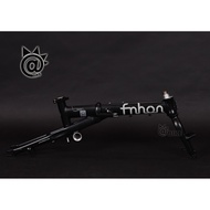 @BIKE FNHON Popular Freedom 14-inch New Folding Frame Black FGA1402