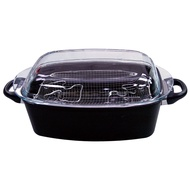飛騰家電 SK-851 德國手工鑄造鈦金屬塗層不沾焗烤鍋