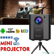 Mini Wifi Projector Android 4K Full HD 1080P LED Home Video Beamer Projector HDMI USB Portable