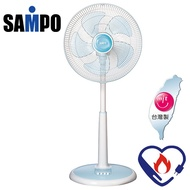 【SAMPO聲寶】14吋機械式立扇/電扇/電風扇(SK-FC14)