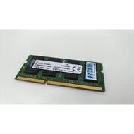 直購1600元 終身保固 金士頓 Kingston 低電壓 DDR3 8G 8GB 1600 12800 雙面 筆電完