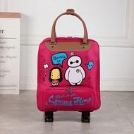 ล้อกระเป๋าสำหรับเดินทางผู้หญิงกระเป๋าสะพายเดินทางกับล้อกระเป๋าล้อลาก Oxford กระเป๋าเดินทางขนาดใหญ่กระเป๋าเดินทางแบบลากกระเป๋าเดินทางกระเป๋า