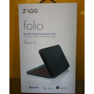 ZAGG Folio 無線藍牙連接 Backlit Tablet Keyboard Ellipsis 8