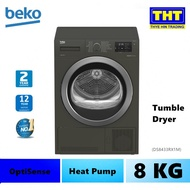 Beko 8KG Heat Pump Tumble Dryer DS8433RX1M