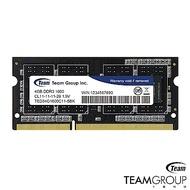 TEAM十銓 DDR3-1600 4G 筆記型記憶體