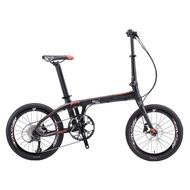 "Sava / Volck 20"" Z1 9S carbon fibre foldable bike"