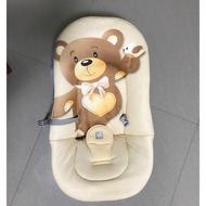 二手 小熊躺椅 義大利製 嬰兒安撫椅 寶寶搖椅
