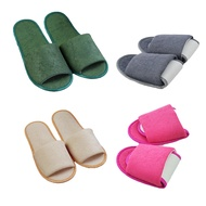 Simple Slippers Hotel Travel Portable Folding House Indoor Slipper Big Size Shoe