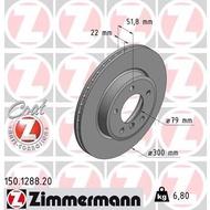 ZIMMERMANN BRAKE DISC BMW E36 E46  / 318i 325i 328i (FRONT)