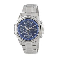 [Seiko] Seiko Men's SSC141 Stainless Steel Solar Watch with Blue Dial [From USA] - intl