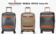 "Ricardo Ocean drive mobile office carry on luggage 19"" with laptop compartment 15.5""  กระเป๋าเดินทาง กระเป๋าเดินทาง19""พร้อมช่องโน้ตบุ๊คคอมพิวเตอร์15.5"""