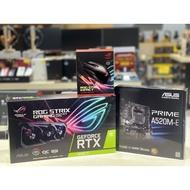 STRIX RTX 3060 TI O8G GAMING GDDR6+AM4 PRIME A520M-E+MOUSE ROG STRIX IMPACT GAMING GEAR [3-Y]