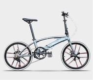 Hito Aluminium Alloy Foldable Bike / Foldable Bicycle / Folding Bike 7 Speeds/ Light Weight/ Magnesium Alloy Wheels [FREE SHIPPING]