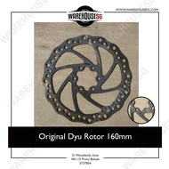 Original Dyu Rotor 160mm For 10 inch Scooters Speedway/ Dualtron