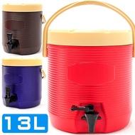 不鏽鋼13L茶水桶D084-TY13L(13公升冰桶開水桶.保溫桶保溫茶桶.不銹鋼保冰桶保冷桶