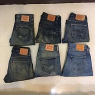 本周新增 六件levi's levis 牛仔褲 牛仔短褲 501 522 504