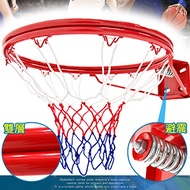 避震彈簧!!標準18吋雙層金屬籃球框(含籃球網)標準籃框架.耐用籃筐架子籃網.Basketball hoop金屬籃架不含籃球板.打籃球類運動用品.推薦專賣店哪裡買ptt)B004-1728