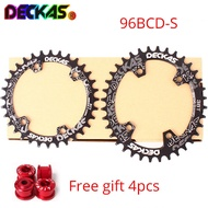 DECKAS Narrow Wide 96BCD-S Chainring MTB 32/34/36/38T Chain Ring Oval Round