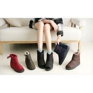 『※妳好,可愛※』韓國童鞋 韓國女鞋 皇冠 Ollie雪靴類似款防水靴 防水短雪靴 親子雪靴 短靴 親子鞋 (大人款)