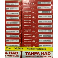 Maxis Hotlink Prepaid Vip Vvip Special Number Simcard 011-238