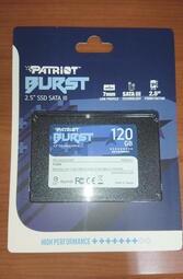 新品 博帝 Patriot Burst 2.5吋 120G SSD 固態硬碟
