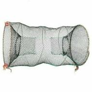 【現貨需郵寄】50x80鍍鋅鐵 摺疊彈力魚籠 蟹籠  鰻魚籠  蝦籠 鱸鰻籠