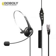 多寶萊M11清晰客服電話耳機手機耳麥話務耳機耳機固話座機